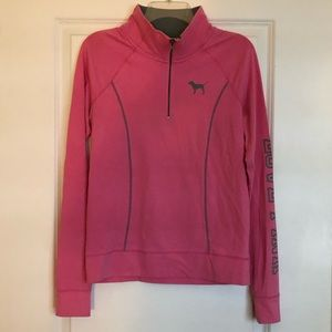 PINK Victoria's Secret Quarter Zip